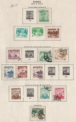 Korea Lot Of Stamps #30T