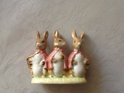 Beatrix Potter Figure Flopsy Mopsy And Cottontail