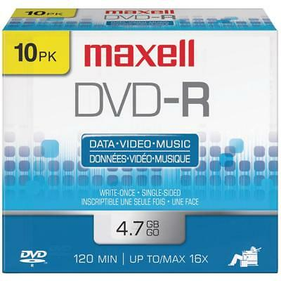 Maxell 4.7gb 120-minute Dvd-rs (10 Pk)