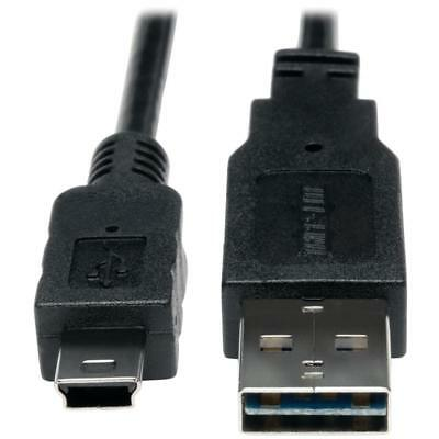 Tripp Lite A-male To Mini B-male Reversible Usb 2.0 Cable 3ft