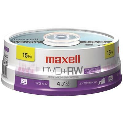Maxell 4.7gb 120-minute Dvd+rws (15-ct Spindle)