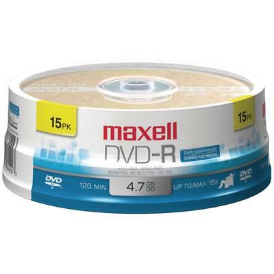 Maxell 4.7gb 120-minute Dvd-rs (15-ct Spindle)