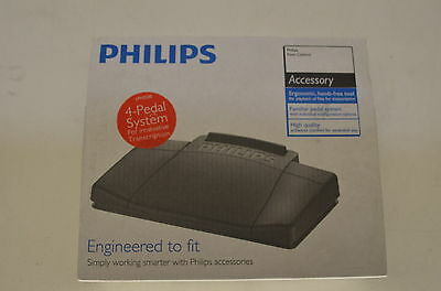 PHILIPS Foot Control LFH-2330/00 USB Computer Transcription Brand New in Box !!!