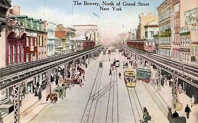 The Bowery, North of Grand Street, New York