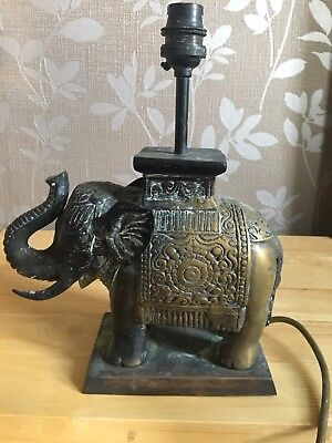 Antique Lamp elephant