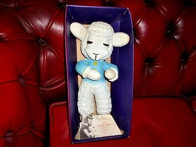 Vintage 1970's Shari Lewis Lamb Chop Bendable Toy From T.v. Puppet Show
