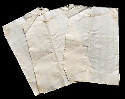 BLANK PAPERS LOT 1600s