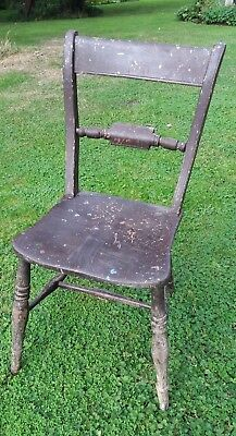 Antique Wooden Kitchen / Dining Chair for Upcycling - Shabby Chic
