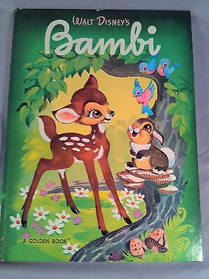 Walt Disney's Bambi Autographed by Melvin Shaw 1981.