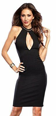 (TG. M)  Dreamgirl Dress Turned / Catene a Dos Colore Nero Taglia M