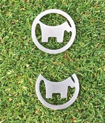 Scotty Dog Golf Ball Markers ,Titleist , Srixon, Callaway, Nike, Taylormade,
