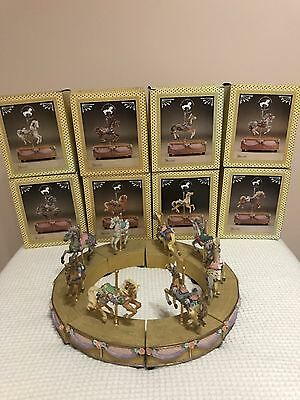 8 Lefton Birthday Series LE  Great American Carousel Tobin Fraley musical motion