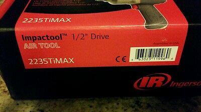 NEW Ingersoll Rand 12 Drive impact wrench/gun ir2235TiMax ships free! 21754mg