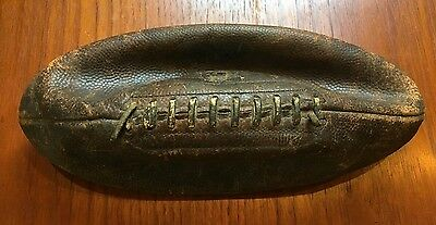 Antique Old Vintage 1930's 1940's Leather Football Buy It Now