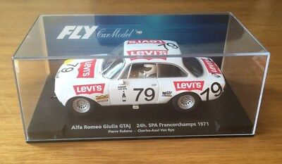 FLY 1/32 SLOT CAR ALFA ROMEO GIULIA GTAj 24h SPA 88323