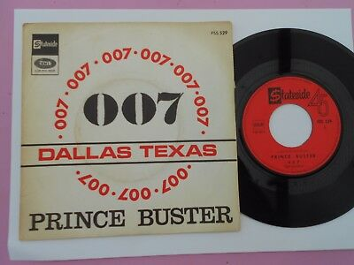 Sp Prince Buster 007 Atlantic Decca Rca Victor Twist Rock Pop Garage French