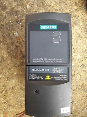 Siemens 6Se6-420-2Ab17-5Aa1 Micromaster Inverter Plus Profibus Used Free Uk Post