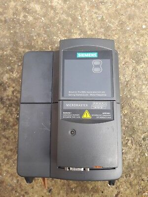 Siemens 6Se6-420-2Ab21-5Ba1 Micromaster Inverter Plus Profibus Used Free Uk Post
