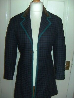 Mens VICTORIAN PERIOD THEATRICAL JACKET BY BERMANS AND NATHANS FROM BARNUM SHOW