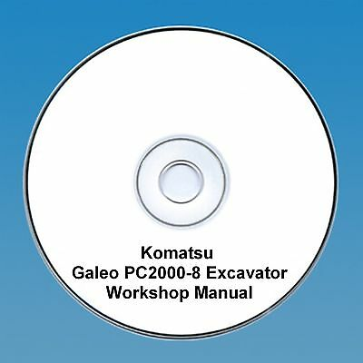 Komatsu PC 2000-8 Excavator Workshop Manual