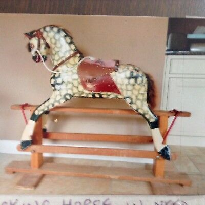 Traditional wooden Rocking Horse in need of some TLC