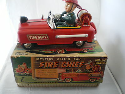 T.n Nomura Fire Chief Mistery Action   Model  + Box All  In  Original Condition
