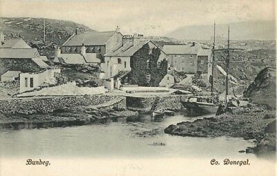 Co Donegal Bunbeg Village