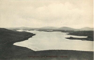 Outer Hebrides North Uist Lochportan Card Reverse In Gaelic