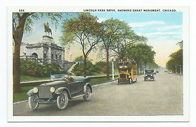 """Vintage """"Grant Monument"""" Max Rigot Selling Co. Unposted Postcard"""