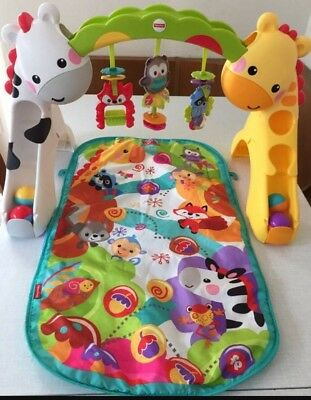 mattel k4562 fisher price spieldecke krabbeldecke mit musik top zustand eur 10 00 picclick de. Black Bedroom Furniture Sets. Home Design Ideas