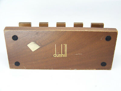 Vintage Dunhill Pipes Stand. Soporte Dunhill para Pipas.