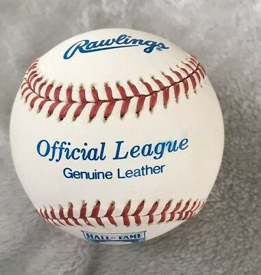 Vintage Official Rawlings Hall Of Fame Baseball