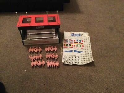 Vintage Scalextric Triang A201 Stand People And Decals