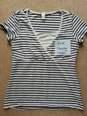 Maternity nursing tops bundle x 5 H&M/Mamalicious/Mothercare size 12/Large