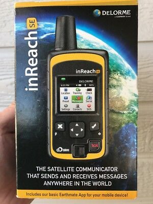DeLorme inReach SE 2-Way Satellite Communicator & GPS Tracker - NIB