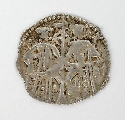 Ivan Alexander 1331-1371 AD Bulgaria Hammered Silver Groschen Early Grosz Coin