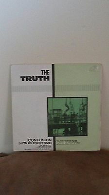 """The Truth – Confusion (Hits Us Everytime): Double 7"""" 1983"""