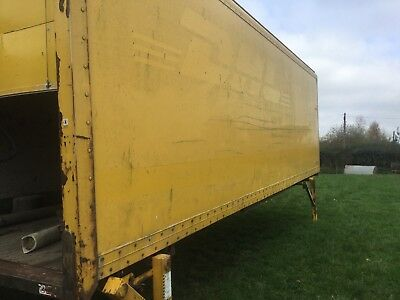 Lorry Demountable Body Shead Storage Container