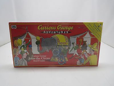 Curious George Joins the Circus Board Game