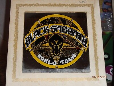 Black Sabbath Carnival Mirror 6 Inch World Tour RARE Vintage