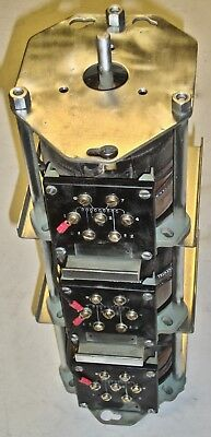 3 Phase Powerstat/Variac 240/480 Volts In  0-560/480/240V Out  3 Amps  2.9 Kva