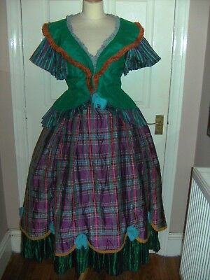 Ladies Victorian Period Theatrical Costume  Bermans And Nathans - Barnum Show