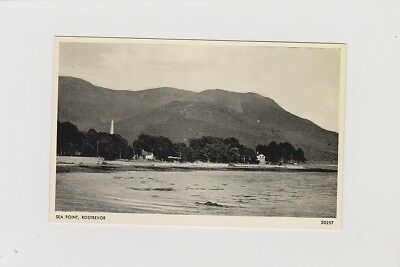Sea Point, Rostrevor. Real Photo Card