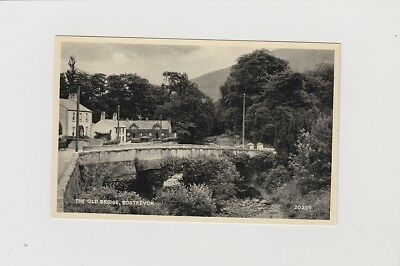 The Old Bridge, Rostrevor. Real Photo Card