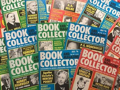 BOOK AND MAGAZINE COLLECTOR MAGAZINE - JOBLOT OF 30 ISSUES No.102 onwards to 150