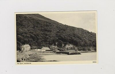 The Quay, Rostrevor. Real Photo Card