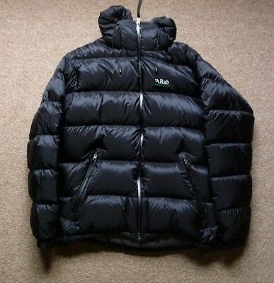 Rab  Pertex Endurance Down Jacket Duvet SizeL colour Black