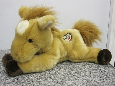 """Lucky The Horse Pony With Neighing Sound Plush 11-12"""" Soft Toy"""
