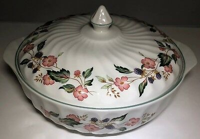 Superb Bhs Victorian Rose Lidded Vegetable Tureen - Nice!