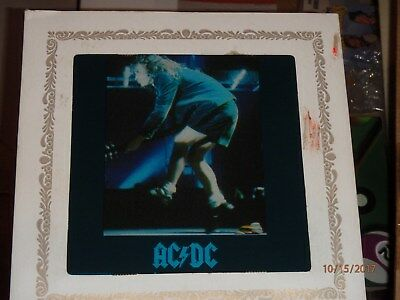 AC/DC Carnival Mirror 6 Inch Angus Young Who Made Who RARE Vintage